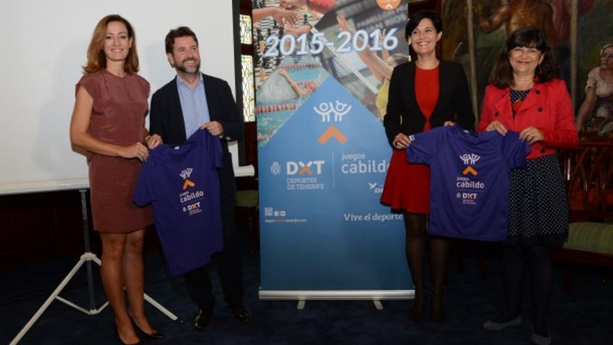 Imagen de presentación de los Juegos del Cabildo de Tenerife.