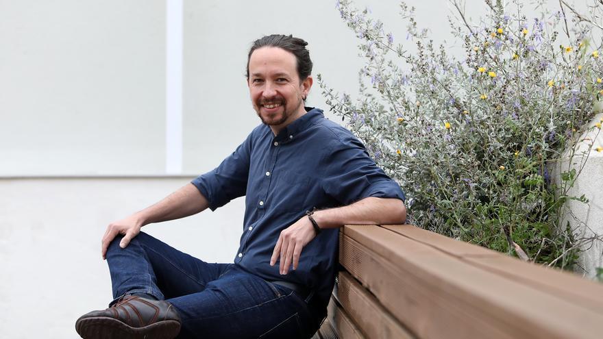Pablo Iglesias, candidato de Unidas Podemos a la Comunidad de Madrid