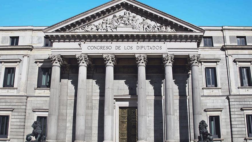 Fachada del Congreso de los Diputados. (CA).