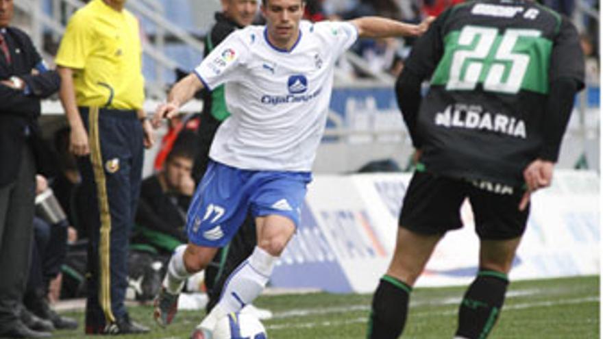 Juanlu, durante un partido de la temporada pasada. (ACFI PRESS)
