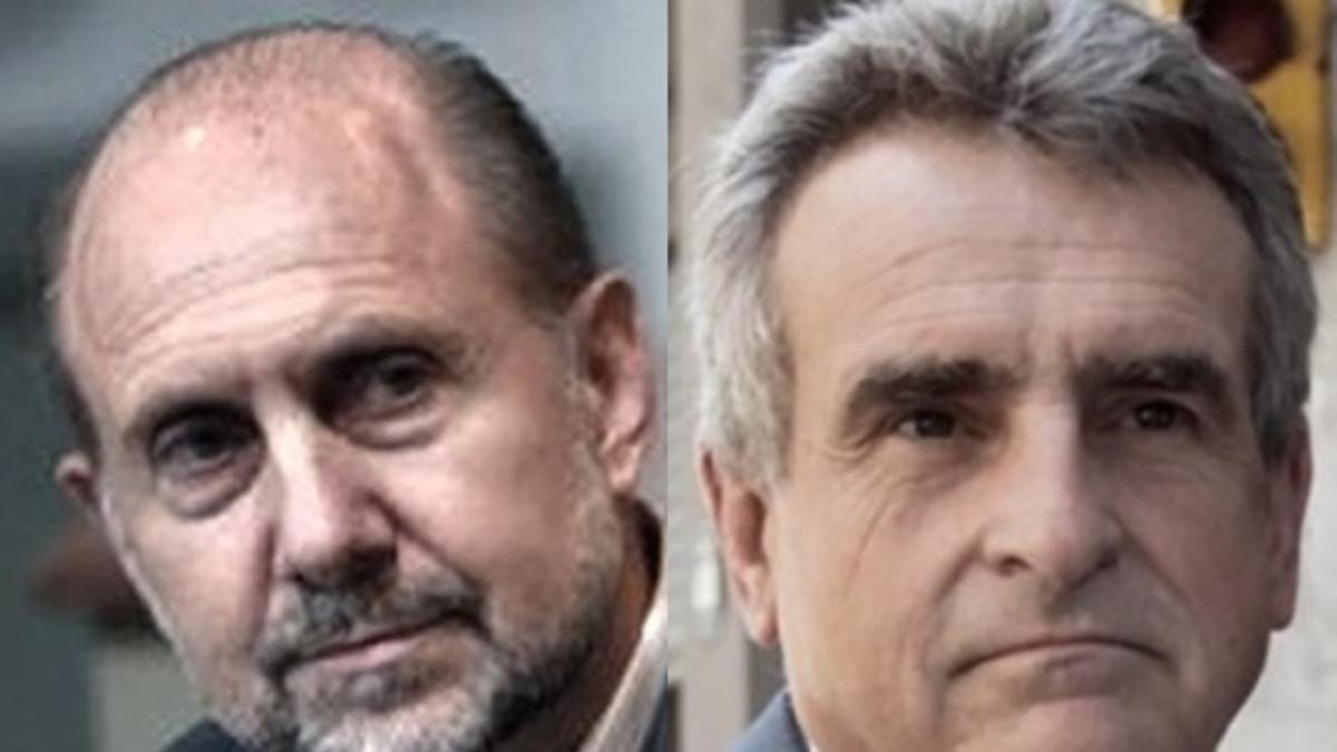 Omar Perotti y Agustín Rossi, gobernador de Santa Fe y ministro de Defensa, inscriptos en dos boletas distintas y enfrentadas