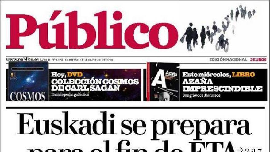 De las portadas del día (31/10/2010) #12