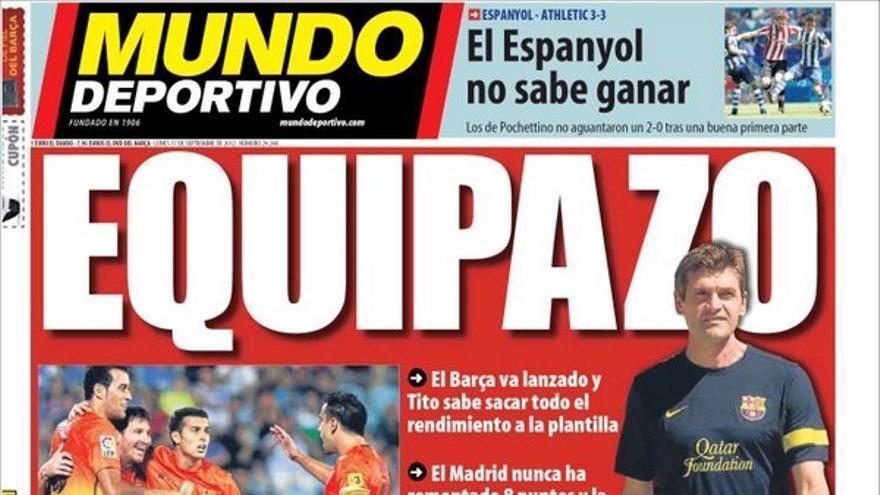 De las portadas del día (17/09/2012) #13