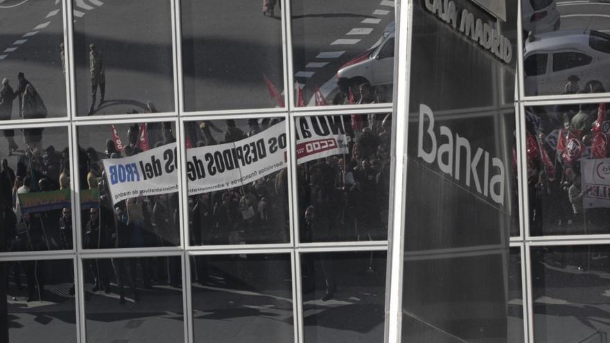 Bankia tiene hasta el 9 de febrero para presentar el ERE definitivo que afecta a 6.000 personas