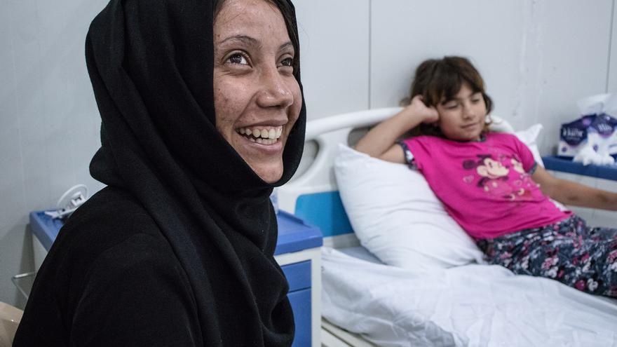 Bushra y Anoud, heridas de guerra, Mosul.