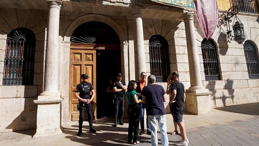 Registran el ayuntamiento de Teruel en macrooperación por amaños de tráfico