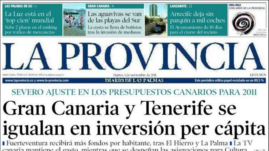 De las portadas del día (1/11/2011) #4