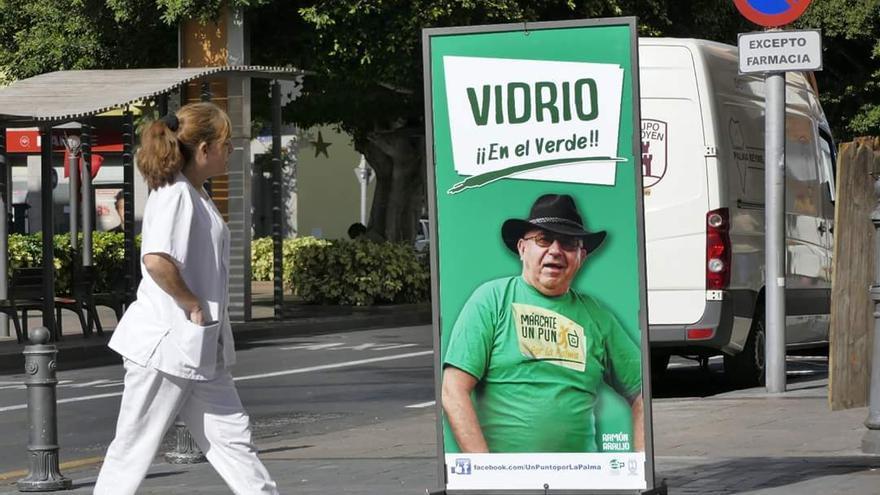 La campaña 'UnPuntoporLaPalma' ha contado con la colaboración de artistas como Ramón Araújo.