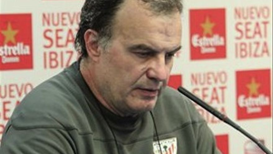 El técnico del Athletic de Bilbao, Marcelo Bielsa. (Europa Press)