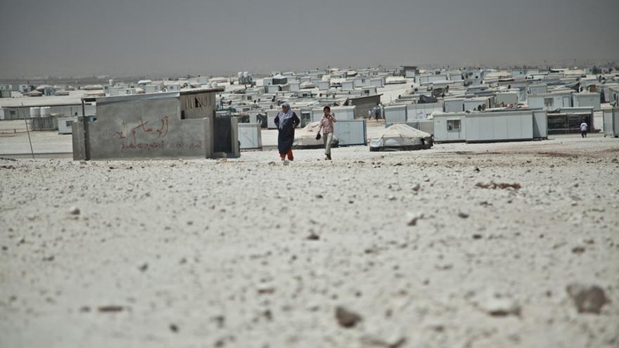 El campo de Za'atari en Jordania.(c) Pablo Tosco / Oxfam Intermón