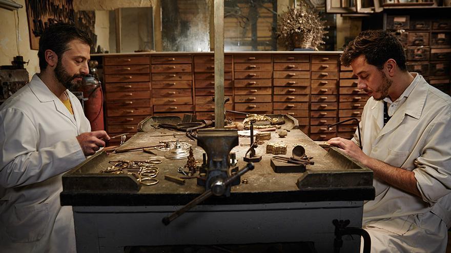 Trabajo con metales nobles en Seco Goldsmith.