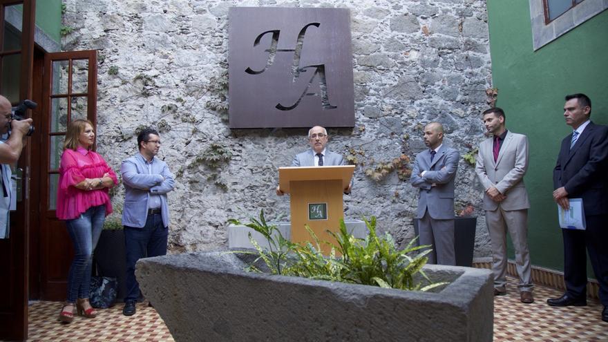 Inauguración del hotel emblemático de Arucas
