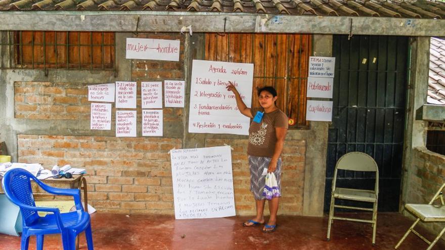 Trabajo de la ONG 'Terra Pacifico' en El Salvador