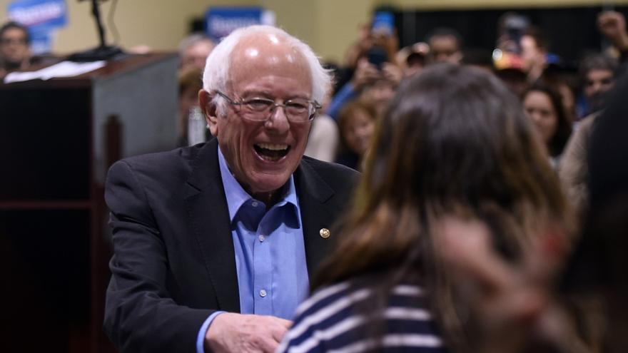Bernie Sanders durante un acto de campaña celebrado en Carolina del Sur, cuyas primarias tienen lugar este sábado.