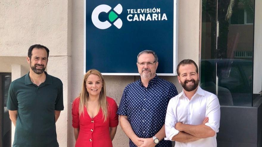 Noemí Santana se reúne con el comité de empresa del ente público Radio Televisión Canaria (RTVC)