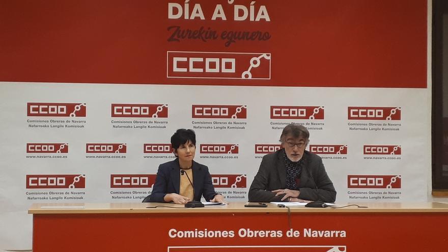 El 39% de los contratos que se firmaron en 2019 en Navarra eran para siete días o menos, según un informe de CCOO