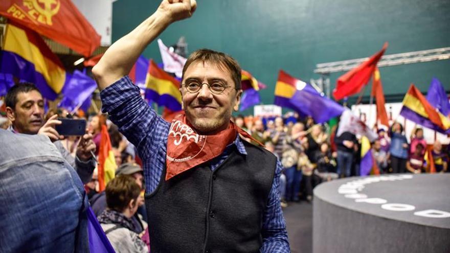 Iglesias se reivindica en Euskadi como única garantía de la plurinacionalidad