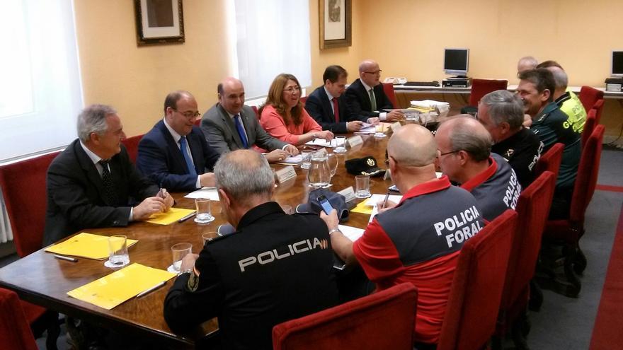 Cerca de 2.200 agentes se encargarán de la seguridad en Navarra durante la jornada electoral