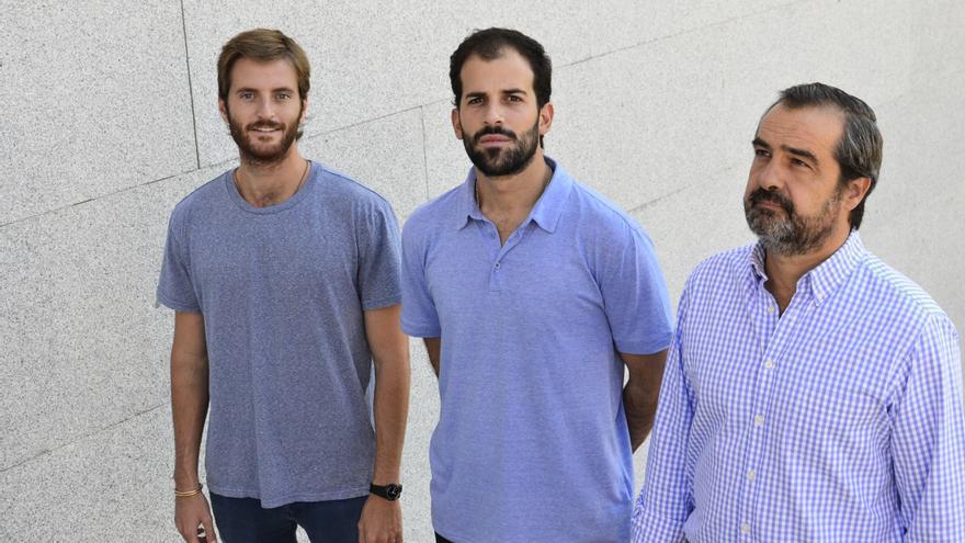 Antonio Espinosa, Pablo Urbano y Luis de Sande / Auara
