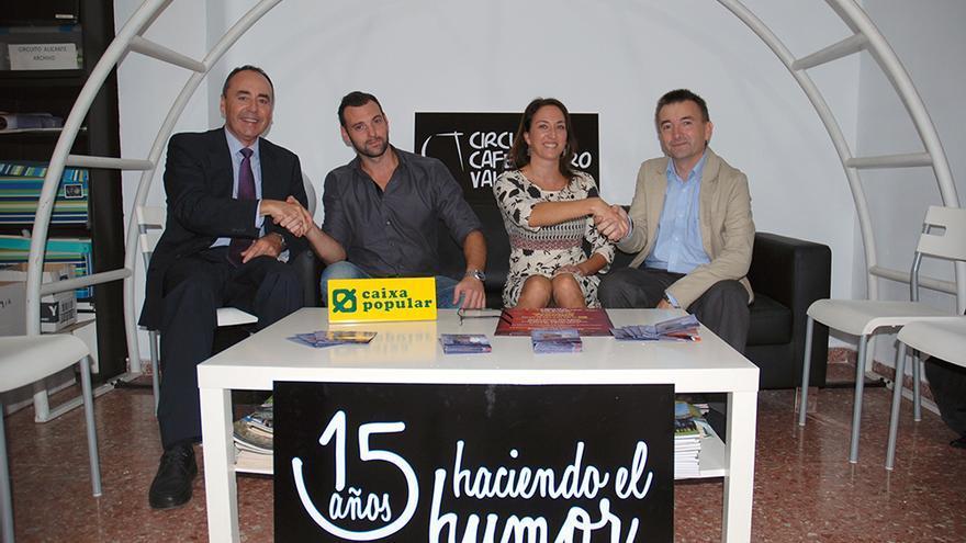 Caixa Popular colaborará con Café Teatro Valencia