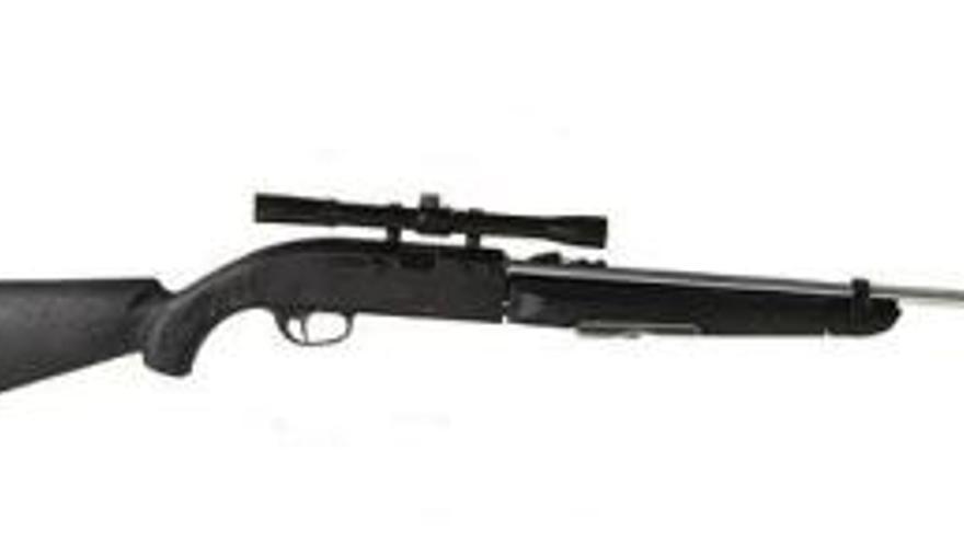 Imagen de archivo de un rifle Remington. En el chalet de Suárez Gil se encontró uno de esta marca.