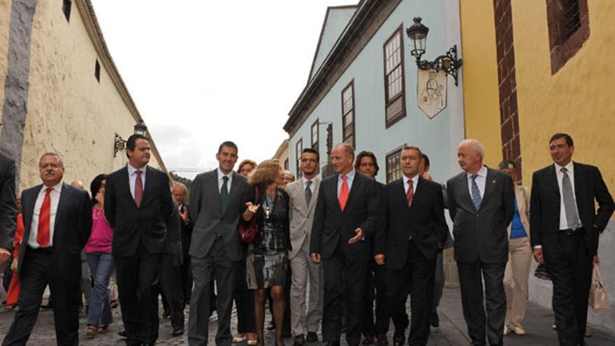 De la entrega del Premio Nacional de Comercio Interior a La Laguna #9