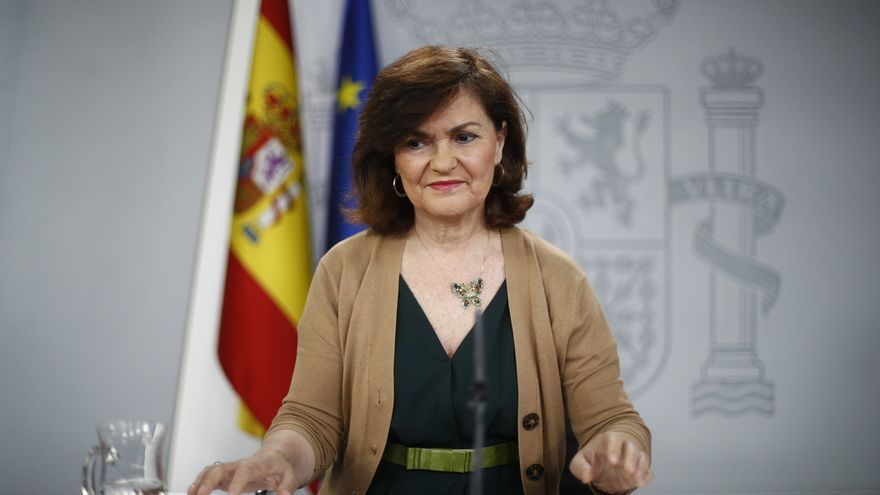 Calvo declina pronunciarse sobre la manifestación contra el juicio del procés y apunta que mantendrán el orden público