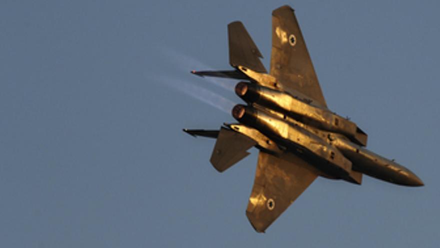 Avión caza de Israel