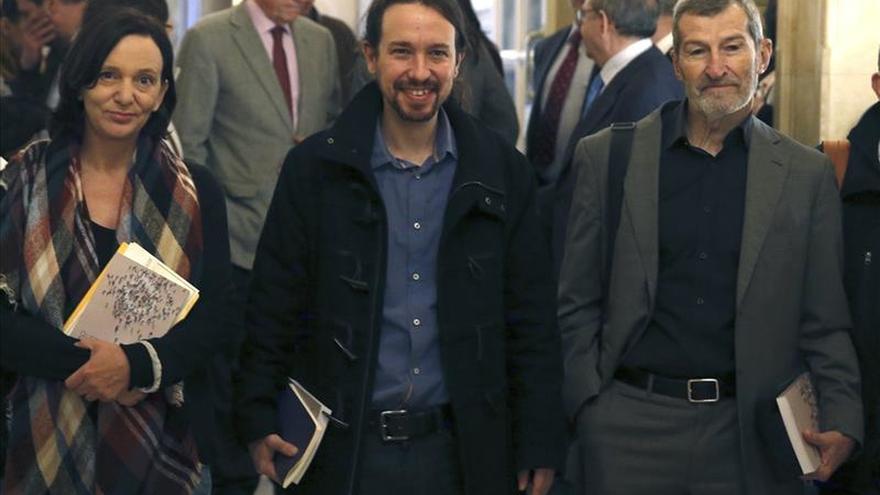Pablo Iglesias admite los logros de la Constitución y cree que sólo requiere cambios