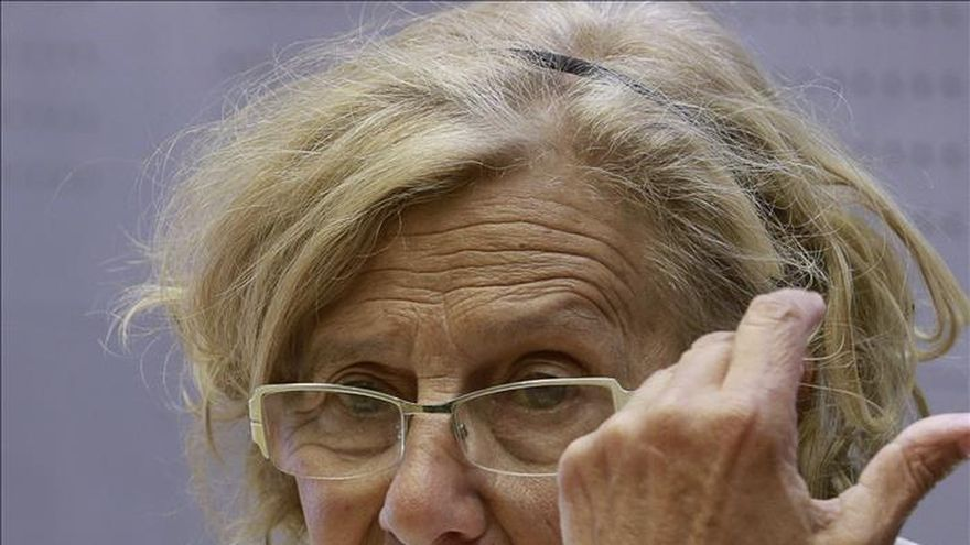 Manuela Carmena siente temor por si las encuestas favorables frenan el cambio