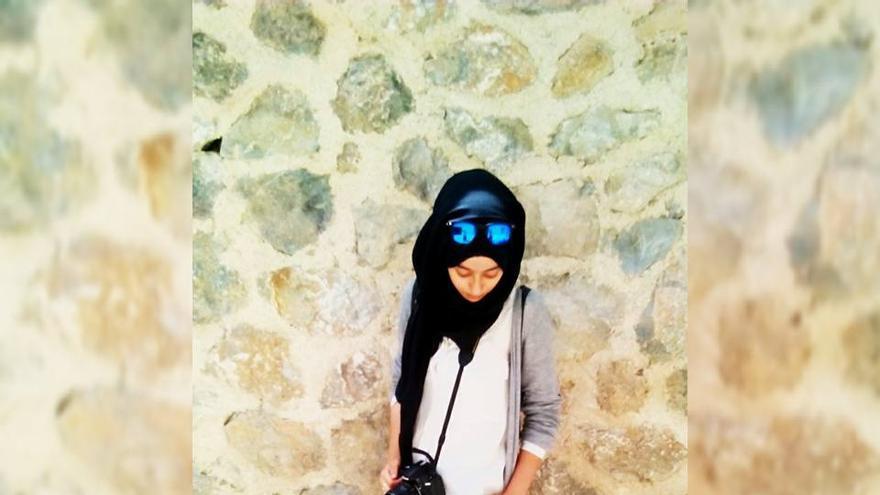 Una de las pasiones de Hajar es la fotografía