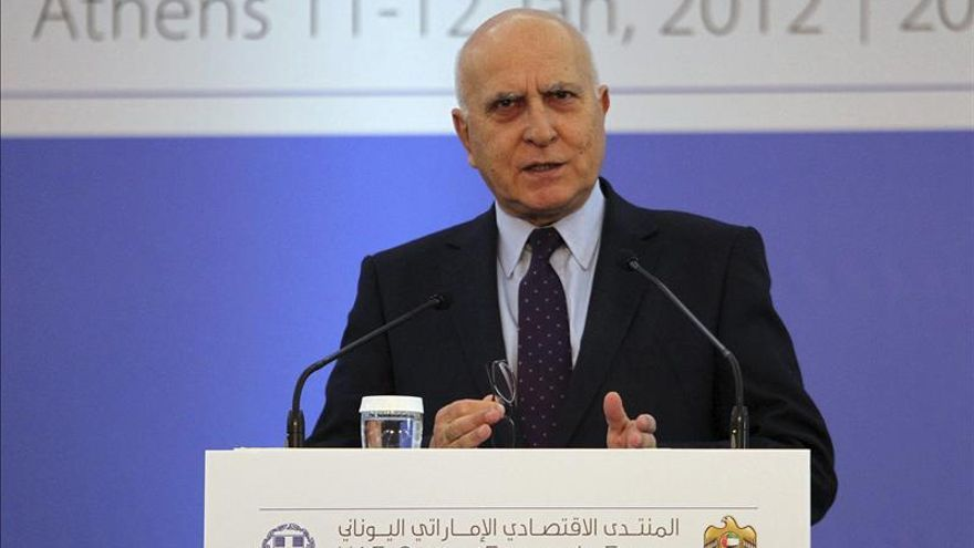 El Gobierno griego nombra a Stavros Dimas candidato a presidir la República