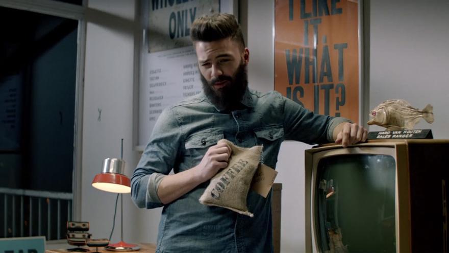 """""""Denham Psycho"""" es una parodia: American Psycho para denim gourmets (el colmo de lo hipster)"""