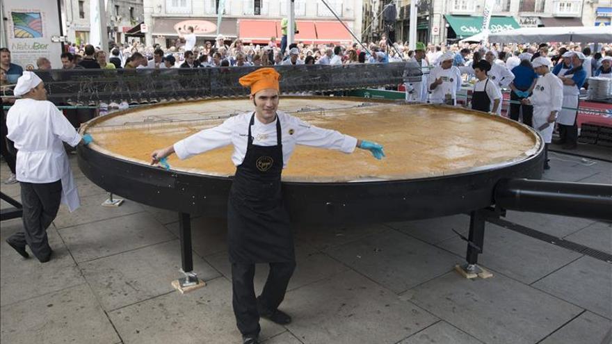Vitoria no abonará los 50.000 euros pendientes del intento de récord Guinness