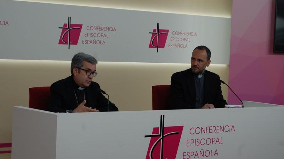 Luis Argüello, en rueda de prensa