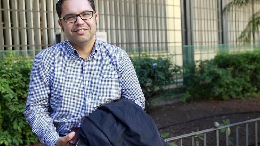 El lider de UGT en Canarias, Gustavo Santana