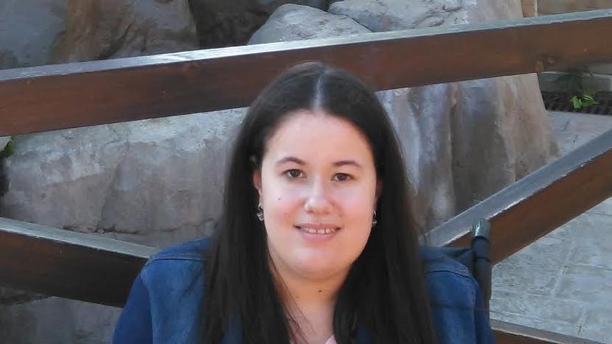 Raquel, estudiante de tercero de Bellas Artes.