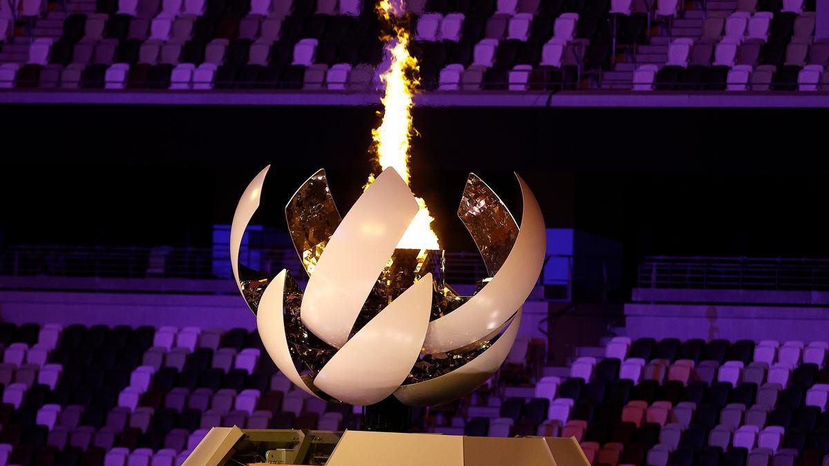 Se encendió la llama olímpica