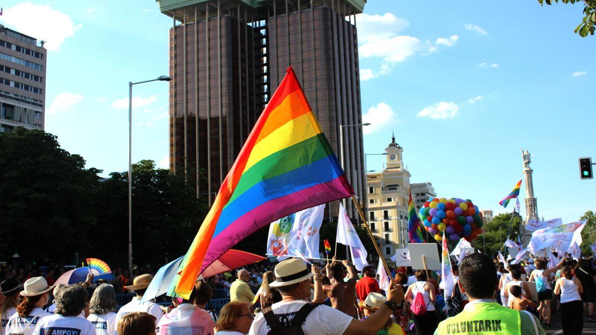 Manifestación del Orgullo 2018 a la altura de Colón | SOMOS CHUECA
