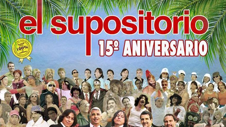 Cartel de la actuación de este sábado, en La Laguna