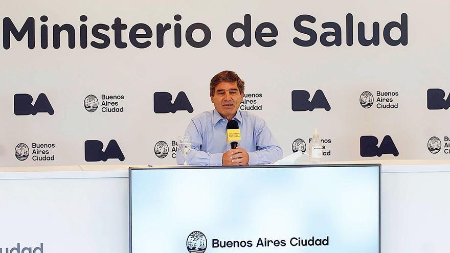 Fernán Quirós, ministro de Salud de la Ciudad Autónoma de Buenos Aires