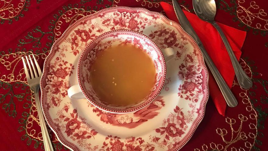 Sopa de picadillo o de boda