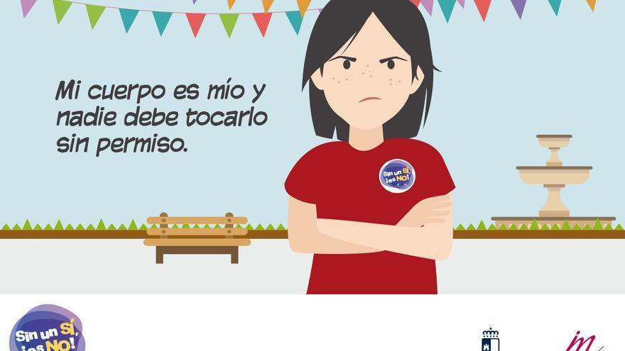 Imagen de la campaña 'Sin un Sí, es No'