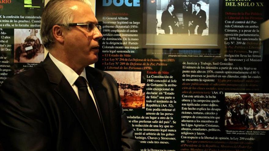 Garzón sitúa a Latinoamérica a la cabeza de la lucha contra la impunidad