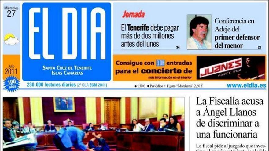 De las portadas del día (27/07/2011) #4