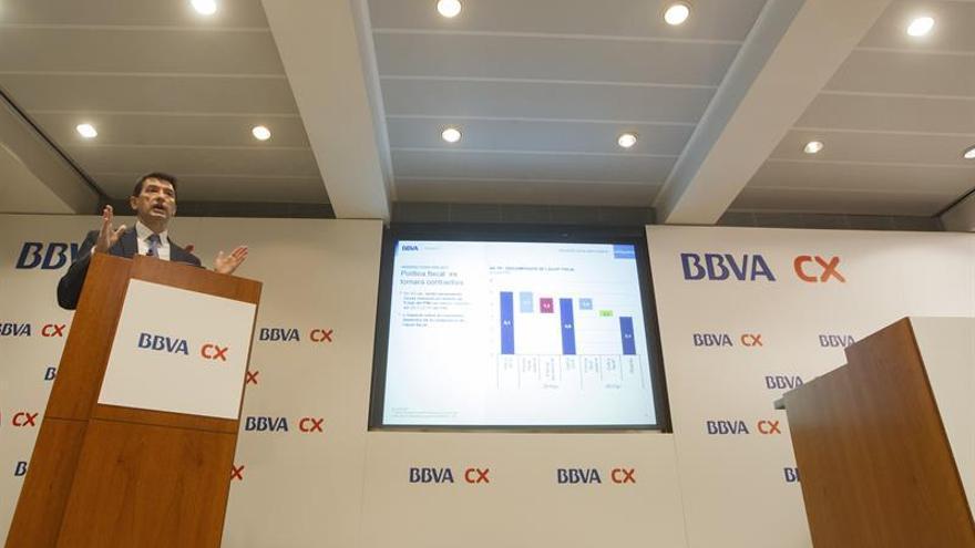 La economía catalana crecerá un 3,5 % en 2016 y un 2,5 por ciento en 2017, según BBVA