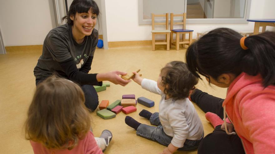 Bebés en la escuela infantil El sitio de tu recreo