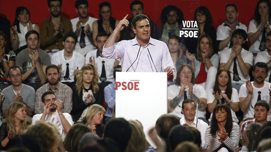Pedro Sánchez pide el voto para dejar atrás los recortes de derechos y libertades