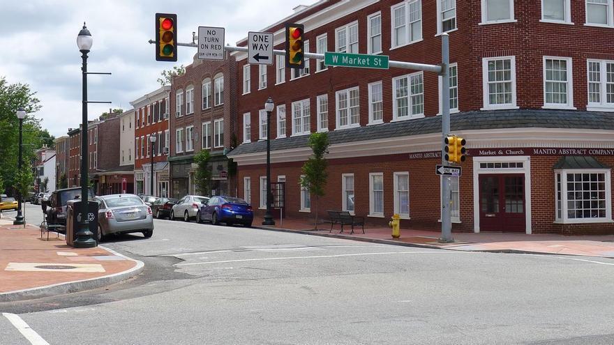 Foto de una calle de Chester, en el estado de Pensilvania