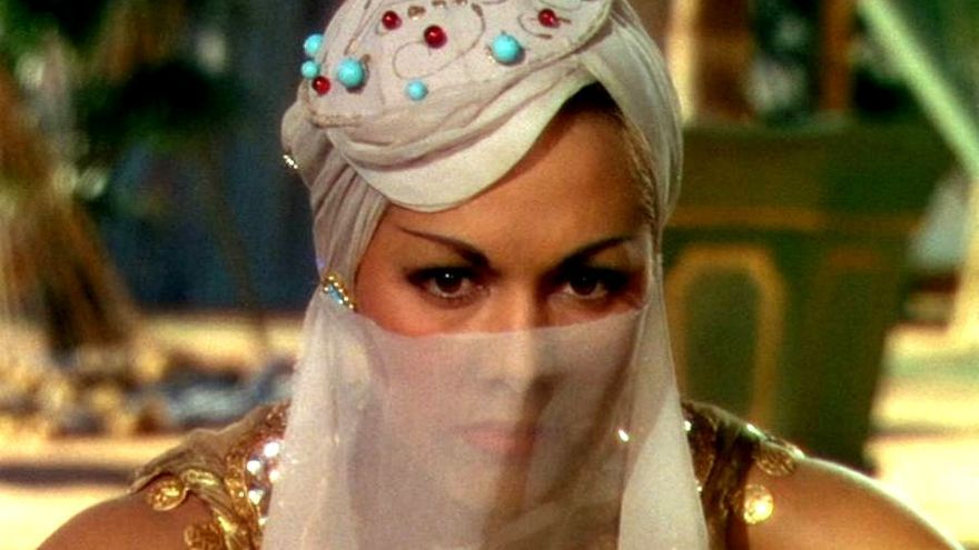 Sherezade en 'Arabian nights'